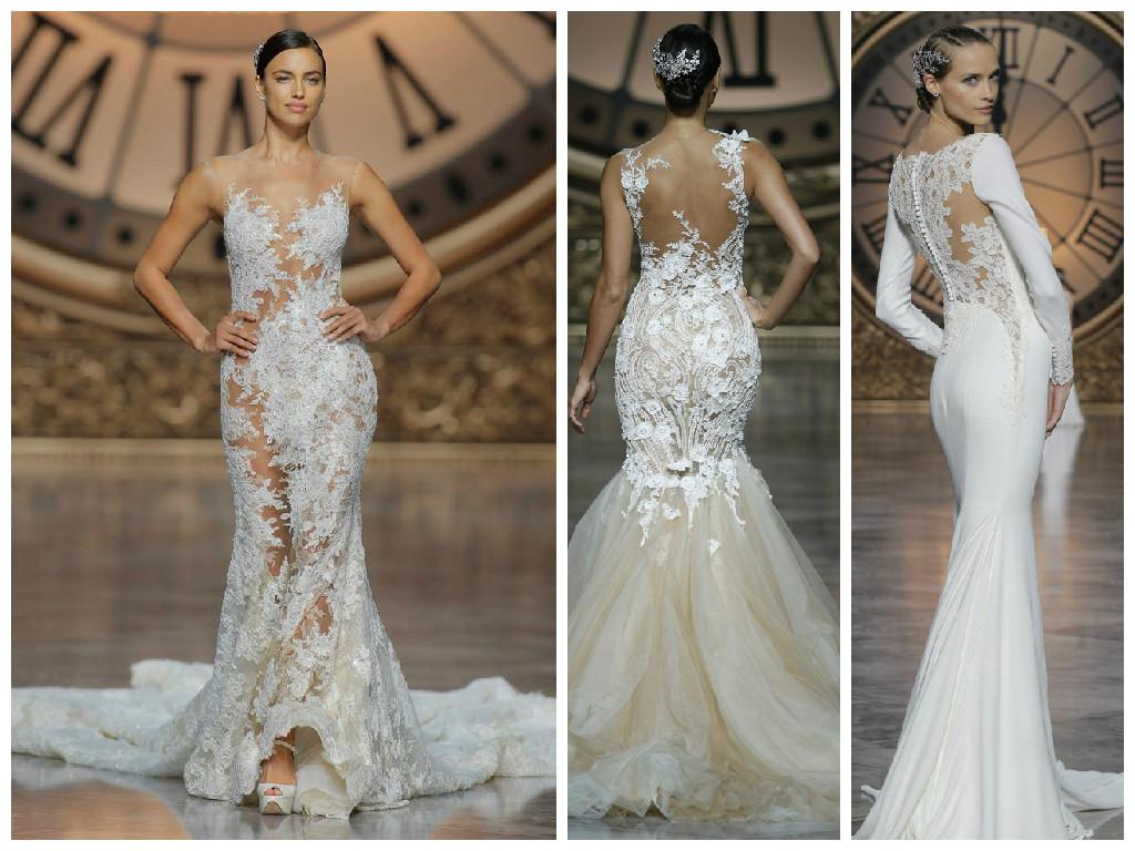 свадебные платья фото 2016 года кружевные