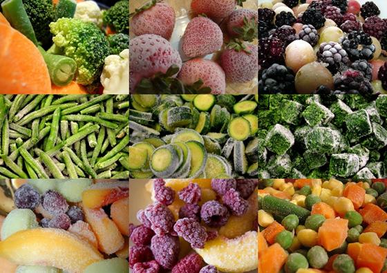 Замораживать овощи в домашних условиях